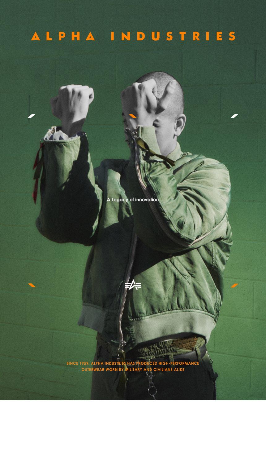 알파인더스트리 MA-1 레귤러 SAGE GREEN - 알파인더스트리, 204,200원, 아우터, 자켓