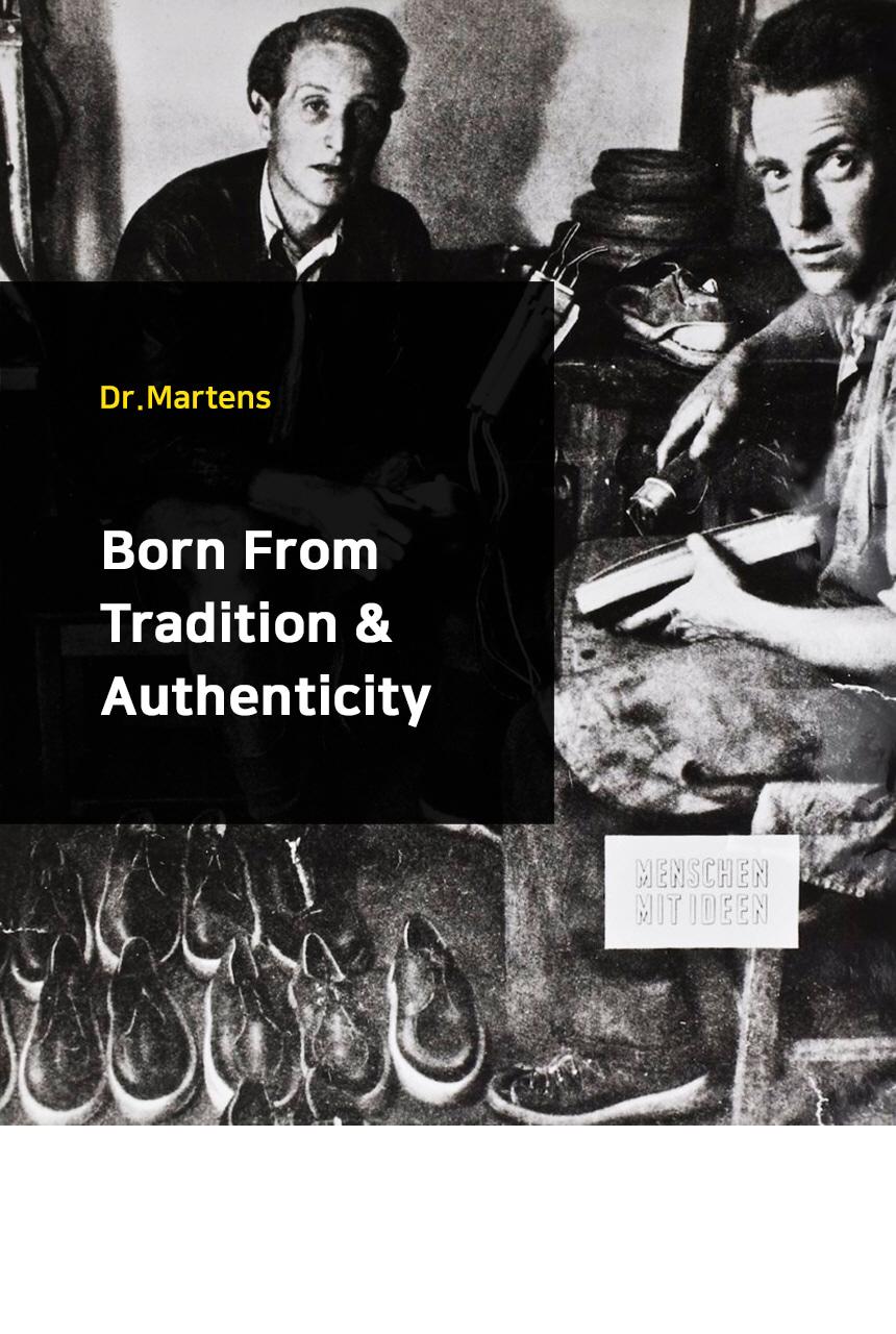 닥터마틴(DR.MARTENS) 론 블랙 16104001
