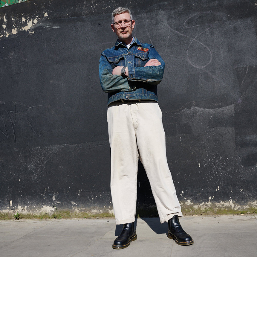 닥터마틴(DR.MARTENS) 조지 블로퍼 다크브라운 24411201