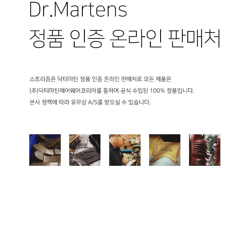 닥터마틴(DR.MARTENS) 단테 ZIP 2 블랙 25043001