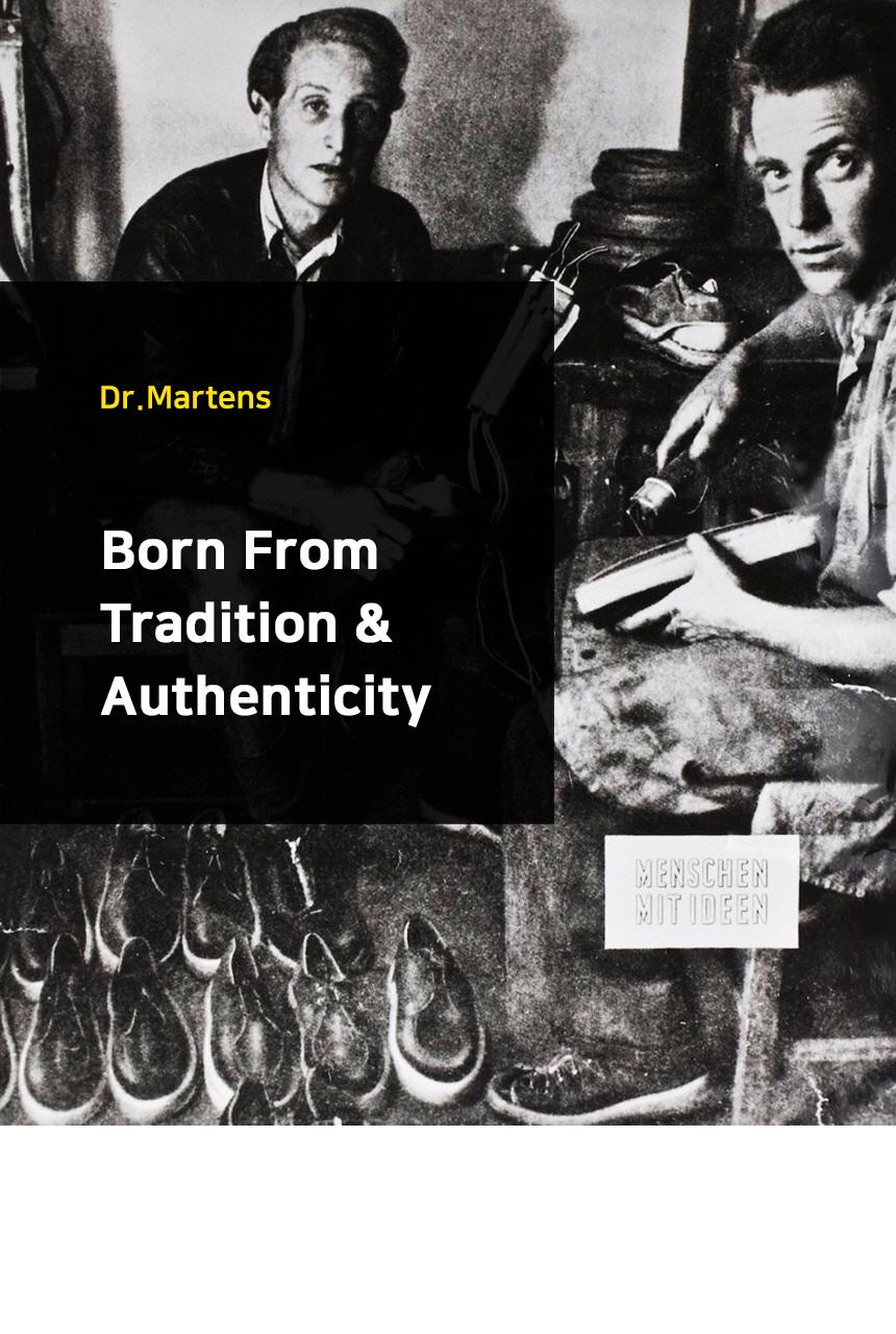 닥터마틴(DR.MARTENS) 2976 쿼드 블랙 24687001