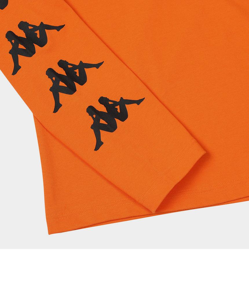 카파 222반다 사이드라인 긴팔 티셔츠 오렌지 - 카파코리아, 34,300원, 상의, 긴팔티셔츠