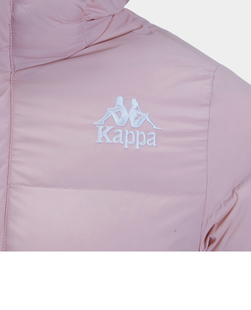카파(KAPPA) 222반다 어센틱 롱패딩 다운 핑크 KJDJ451MN