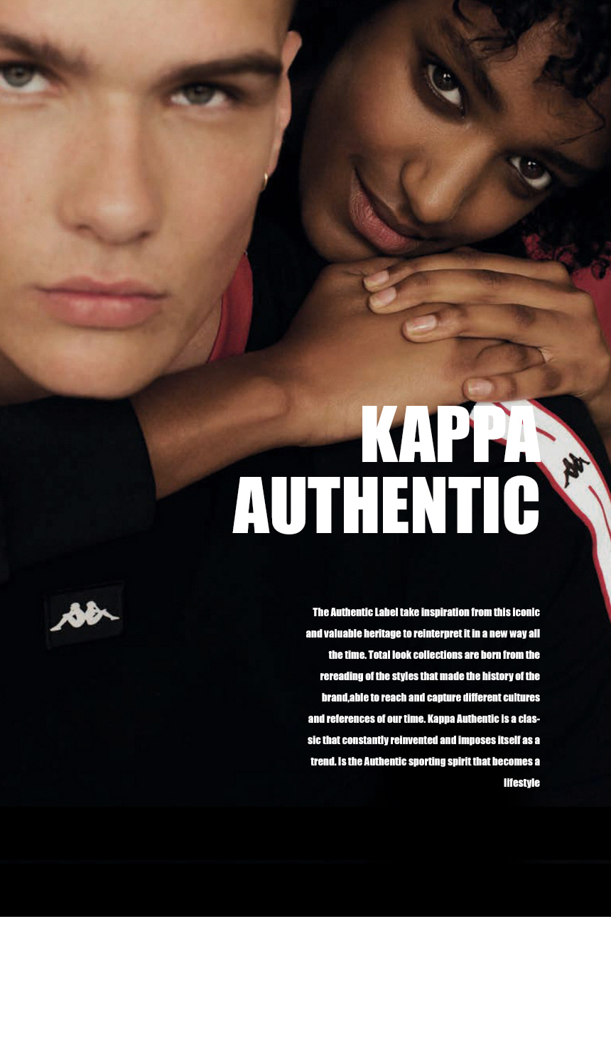 카파(KAPPA) 라이트 스포츠 브라탑 화이트 KJSL221FN