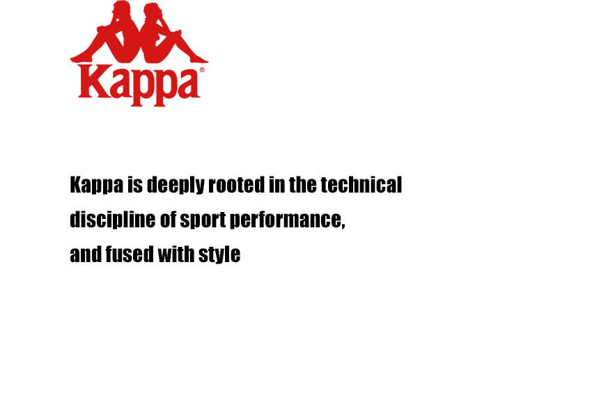카파(KAPPA) 222반다 KAPPA 레터링 반팔티 라임 KKRS297MD