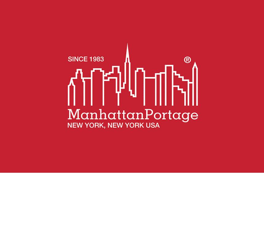 맨하탄 포티지(MANHATTAN PORTAGE) 1607V 빈티지 메신저백 L 블랙