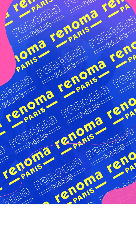 레노마 파리(RENOMA PARIS) 플래시라이트 스니커즈 white green