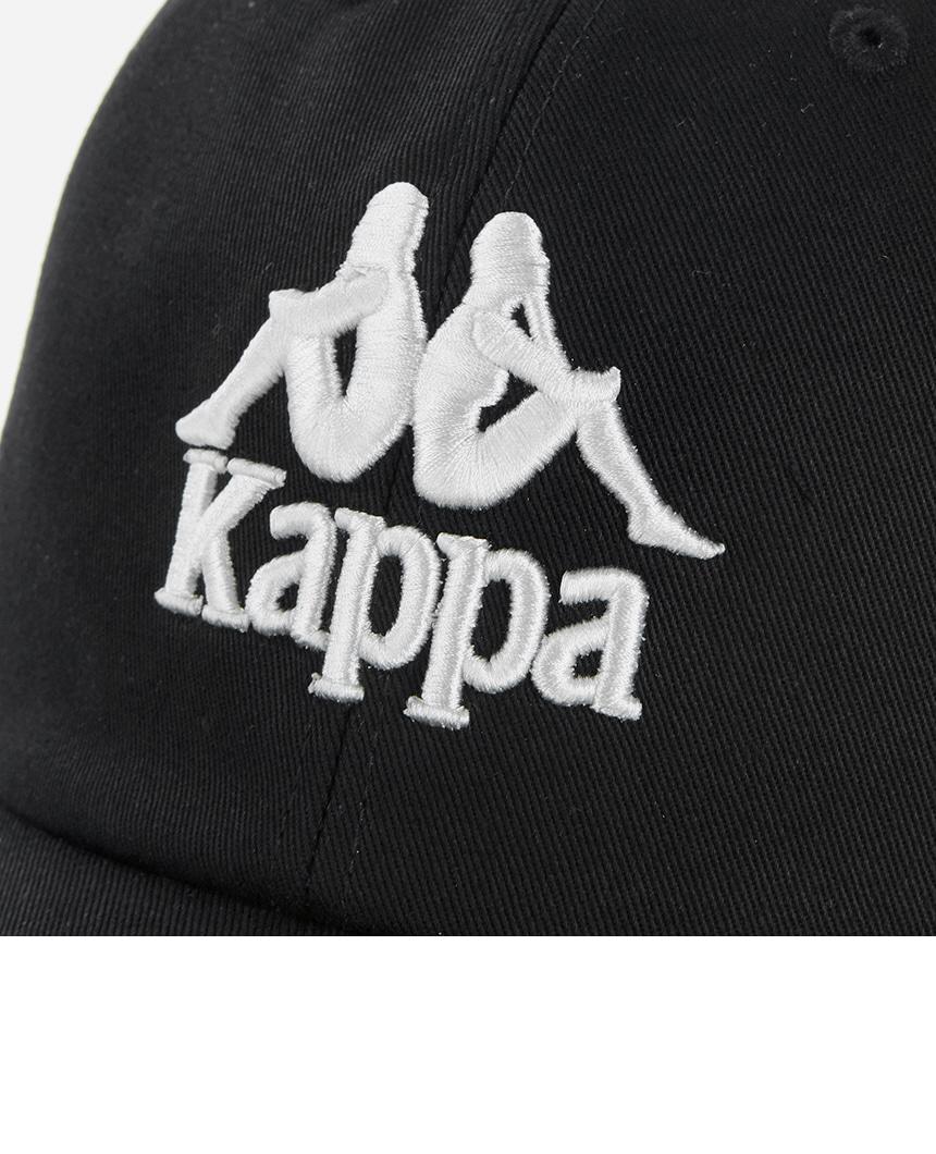 카파(KAPPA) 222반다 반다테이프 볼캡 블랙 KKCP151UN